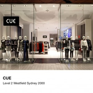 CUE Westfield Sydney | The Bold Collective