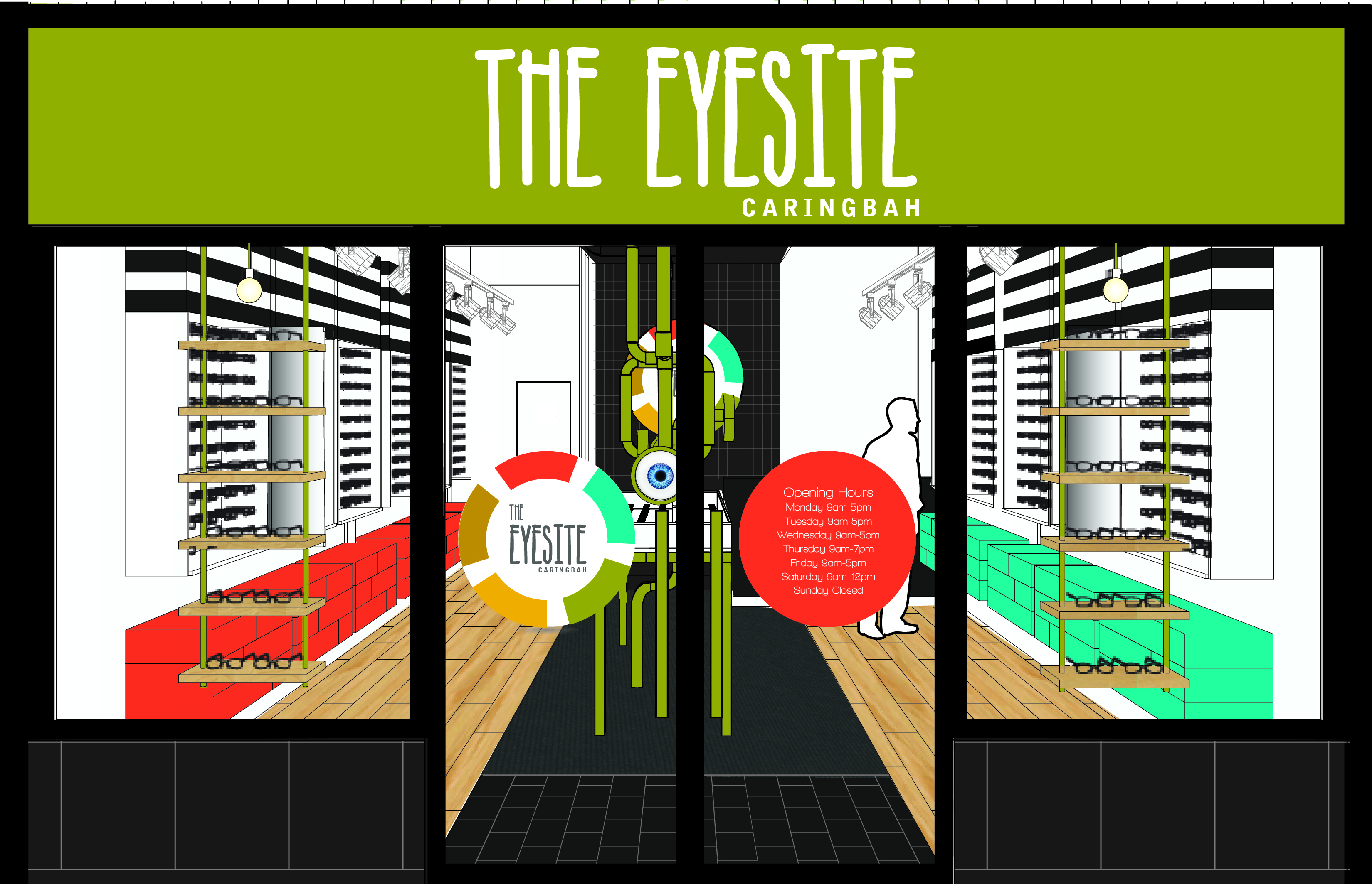 The Bold Collective | Eyesite Caringbah | Entrance