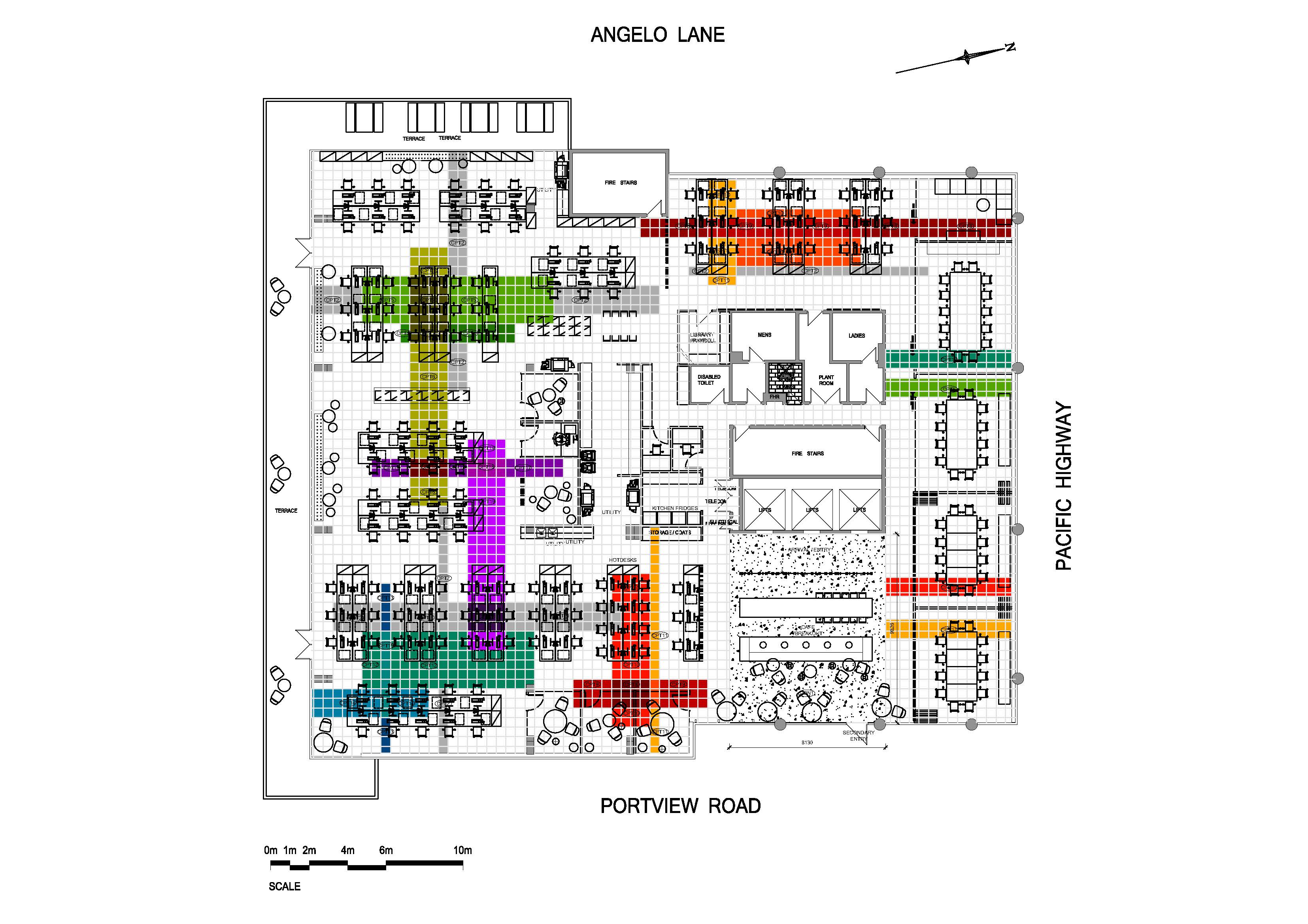 1151 - floor finishes plan