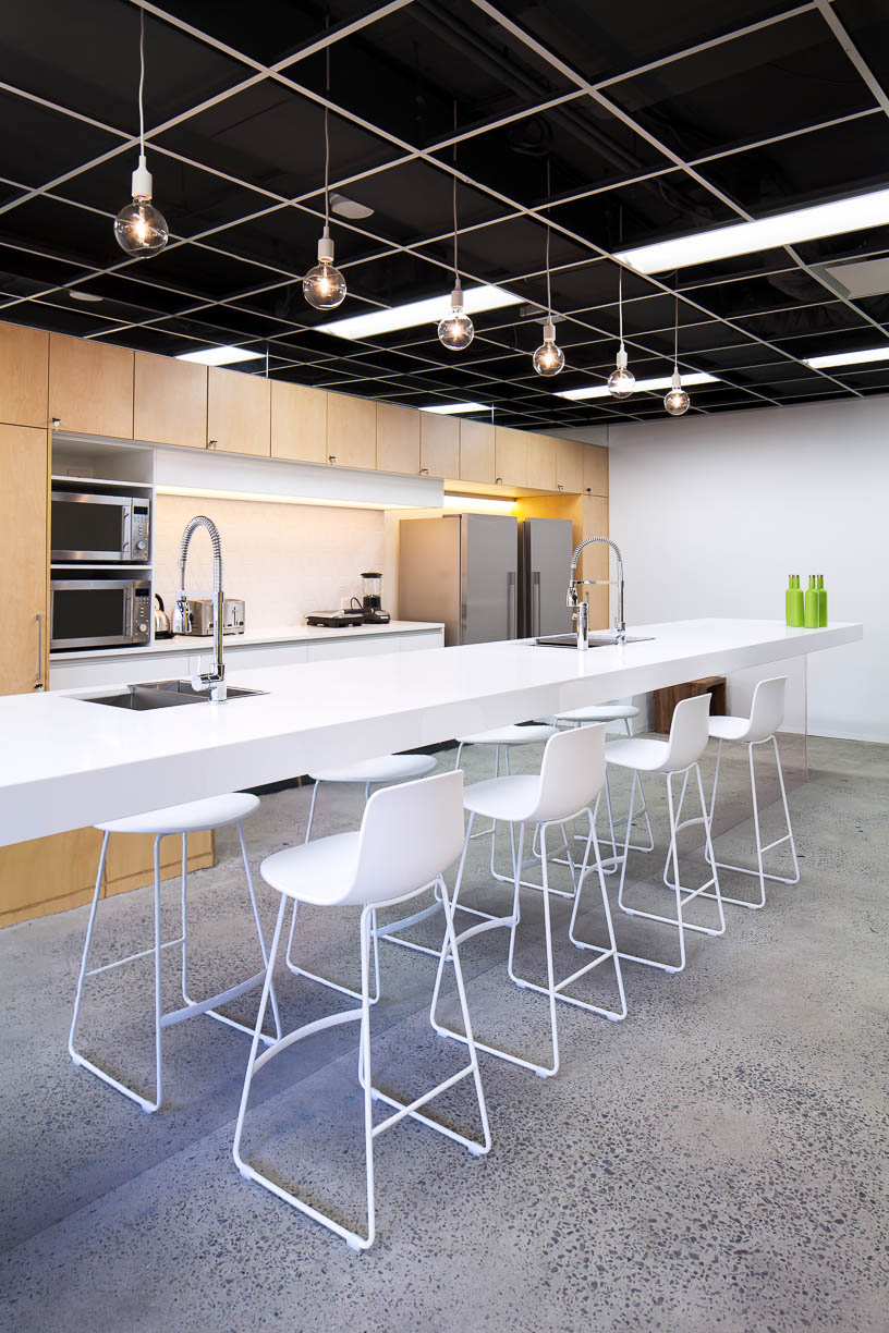 Office Break Room Design: The Bold Collective